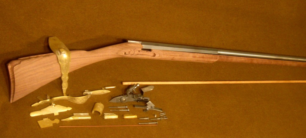 Colonial Fusil Fin Kit